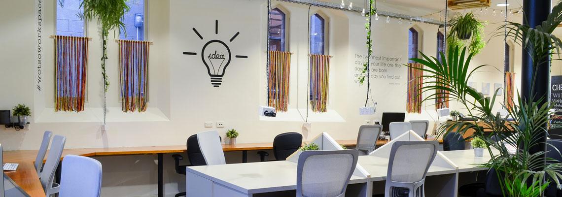 Les avantages de végétaliser un espace de travail