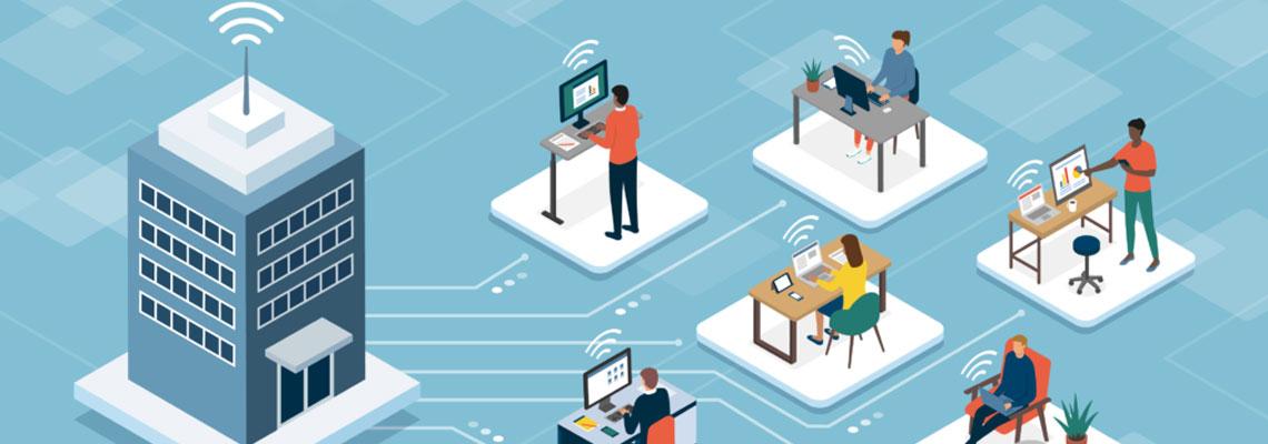 Aplication  mobile de réservation espaces de travail